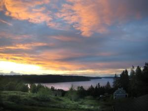 Kitsap sunset 1