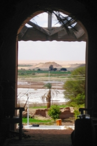 Egyptian oasis view