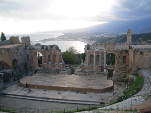 Taormina, Sicily - Greek Theater